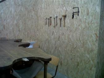 L'atelier de travail du bois