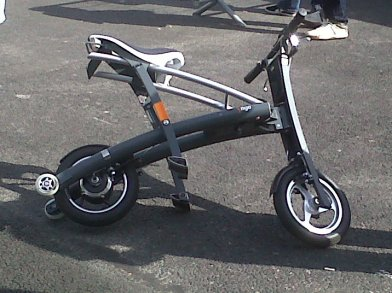 Stigo, le scooter pliable